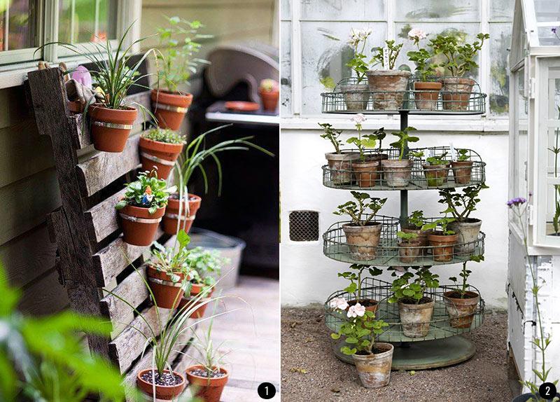 Decoraci n de terrazas patios balcones y jardines que for Casas decoradas con plantas naturales