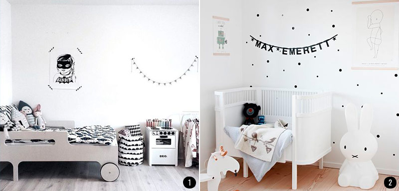 Decora La Habitacion De Tu Bebe Con Estas Ideas - Decoracion-habitacion-bebe