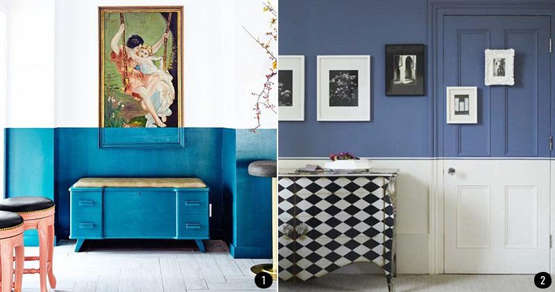 Pintar El Salon En Dos Colores Ideas - Pintar-el-salon-de-gris