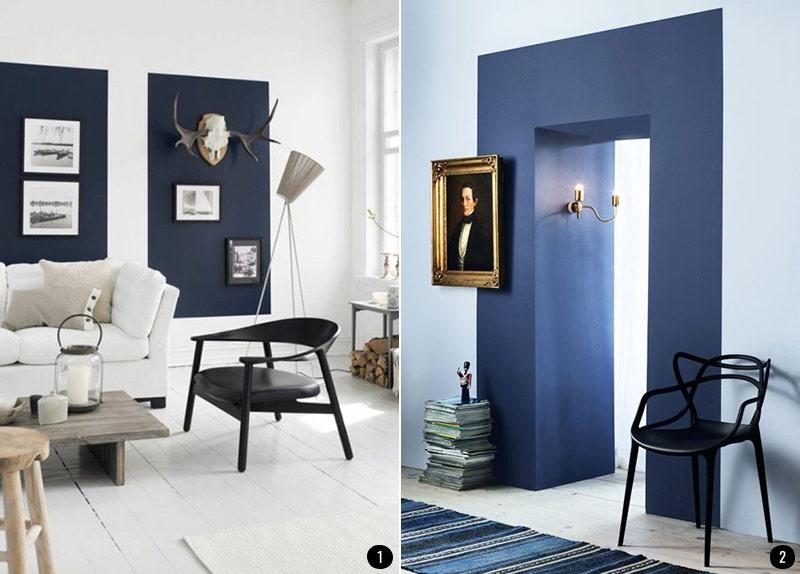 Pintar el sal n en dos colores ideas - Pintar salon pequeno dos colores ...