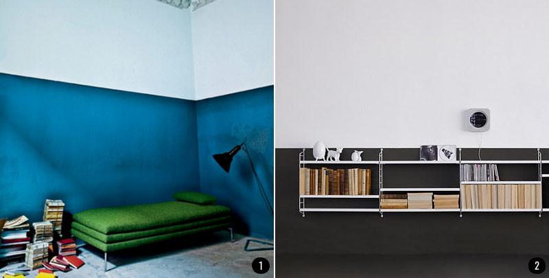 Pintar El Salon En Dos Colores Ideas - Pintar-paredes-de-dos-colores