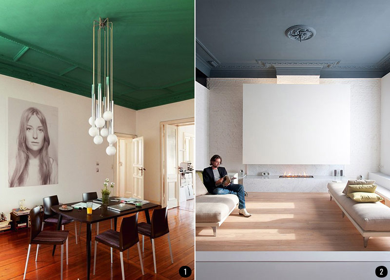 Pintar El Salon En Dos Colores Ideas - Pintura-paredes-salon