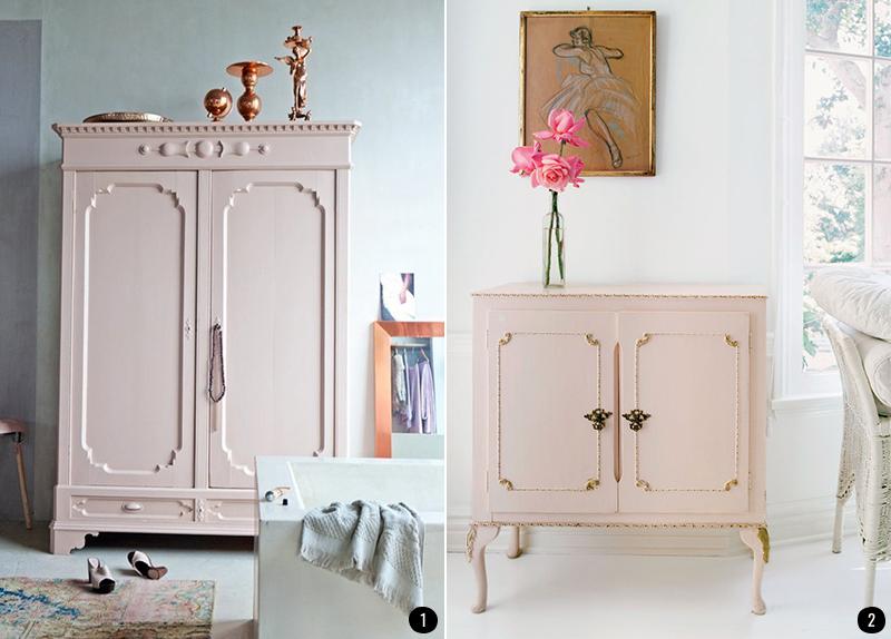 4 colores de moda para muebles pintados con chalk paint for Muebles pintados en gris