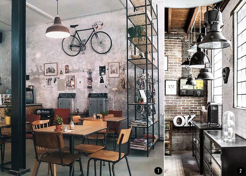 Las cinco tendencias en decoraci n conkansei - Salon estilo industrial ...