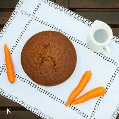 Carrot cake (o bizcocho de zanahoria de toda la vida)