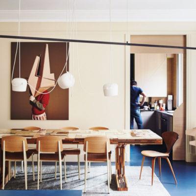 El espectacular apartamento parisino de los fundadores de la revista MilK