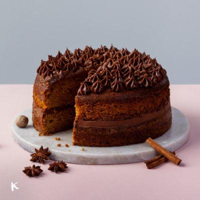 Bizcocho de calabaza y especias: una tarta muy otoñal