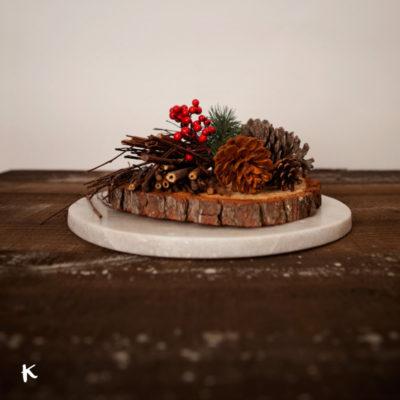 Ideas para tus centros de mesa navideños