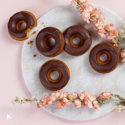 Donuts de calabaza al horno