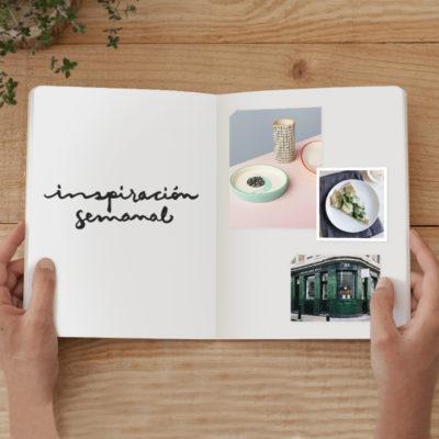 Inspiración semanal: Rosa palo. Recetas sanas y deliciosas. Verde.