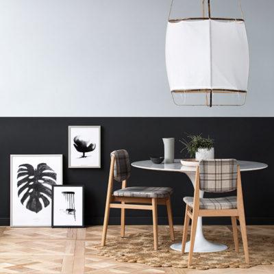 Ideas para pintar el salón en dos colores