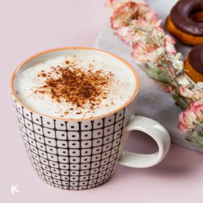 Pumpkin Spice Latte (o Café Latte con puré de calabaza especiado)