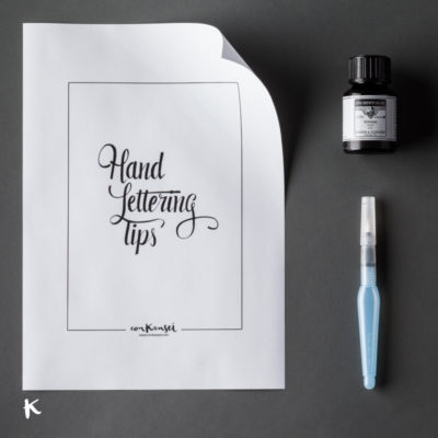 Taller de caligrafía y lettering