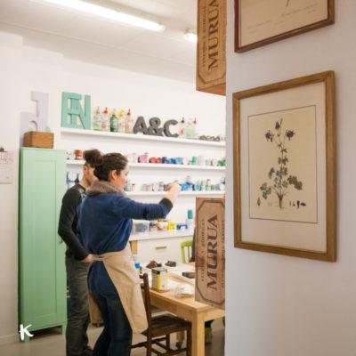 El taller de transformación y reciclaje de muebles de Antic&Chic que nos encantó