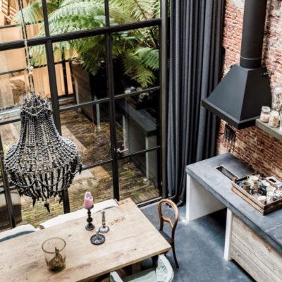 Tendencias: una casa holandesa decorada al estilo industrial