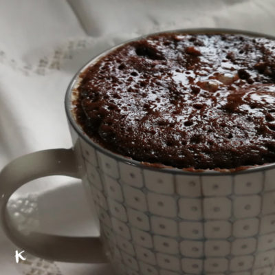 Brownie mugcake en 10 minutos